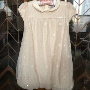 Mayoral Girls Dress with tulle and sequin Size 3T